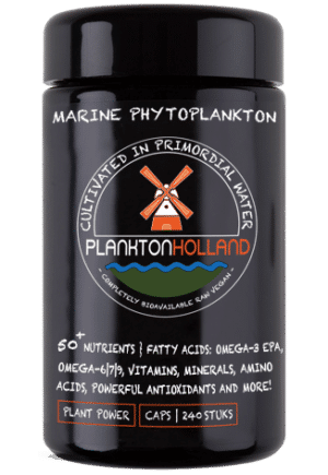 plankton kapseln 240 stück violettenglas Verpackung planktonholland