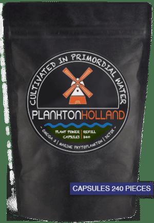 plankton kapseln 240 stück nachfüllung Verpackung planktonholland