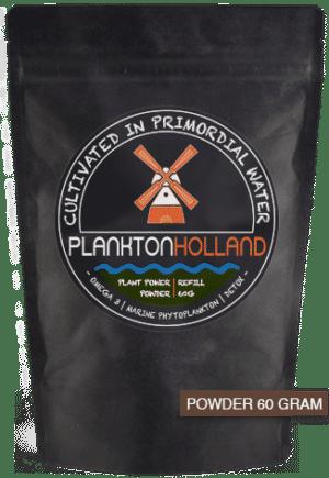 plankton pulver 60 gramm nachfüllung verpackung planktonholland